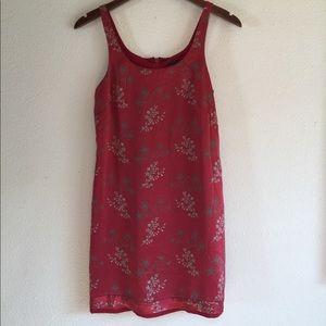 Banana republic dress size 0 100% silk